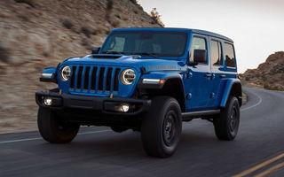 Jeep a prezentat noul Wrangler Rubicon 392: modelul este echipat cu un motor V8 cu 470 CP