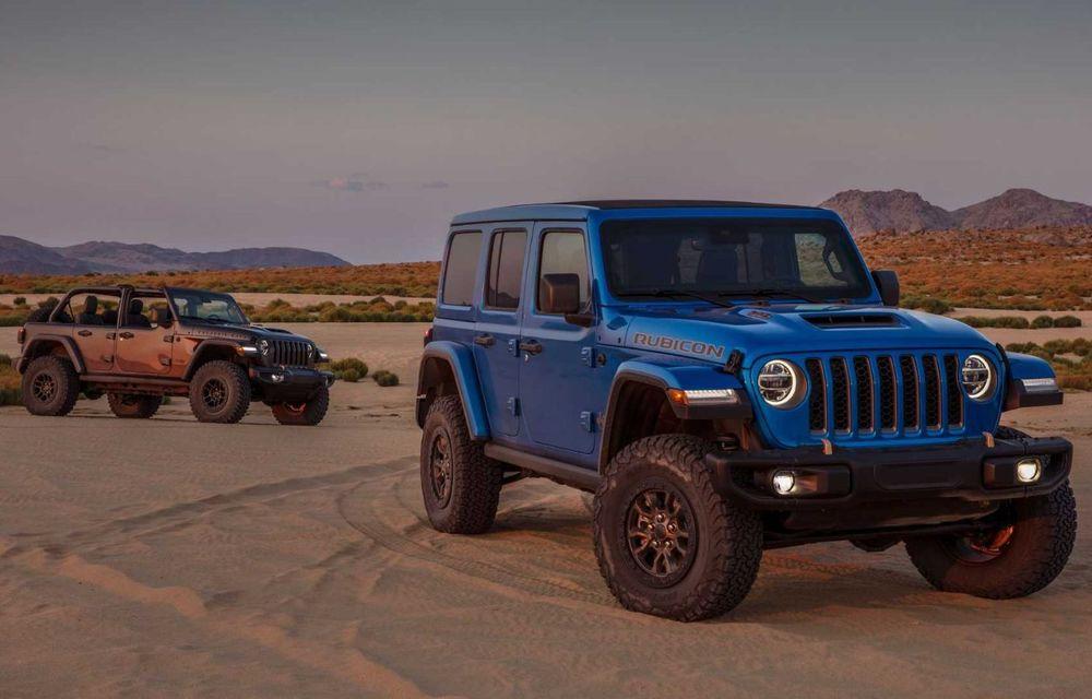Jeep a prezentat noul Wrangler Rubicon 392: modelul este echipat cu un motor V8 cu 470 CP - Poza 14