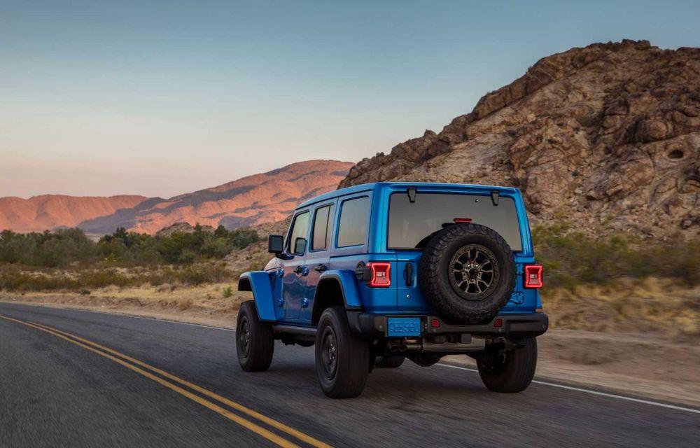 Jeep a prezentat noul Wrangler Rubicon 392: modelul este echipat cu un motor V8 cu 470 CP - Poza 6