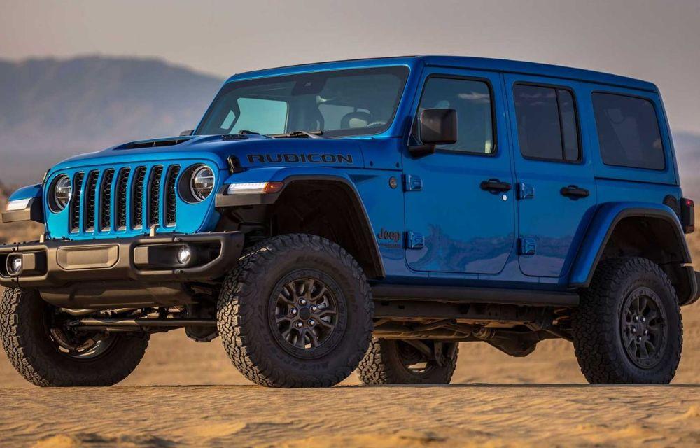 Jeep a prezentat noul Wrangler Rubicon 392: modelul este echipat cu un motor V8 cu 470 CP - Poza 7