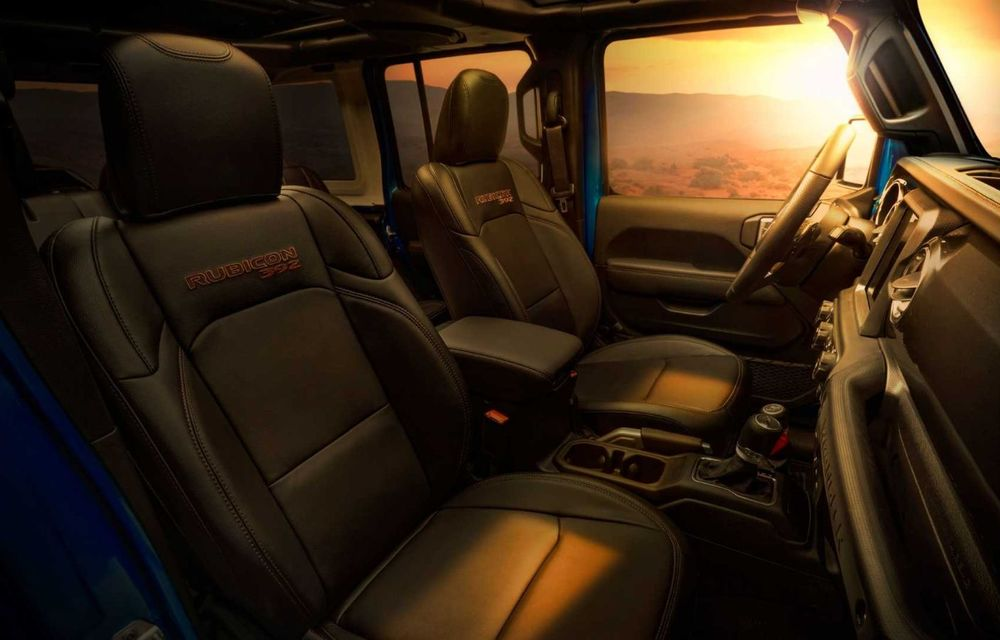 Jeep a prezentat noul Wrangler Rubicon 392: modelul este echipat cu un motor V8 cu 470 CP - Poza 28