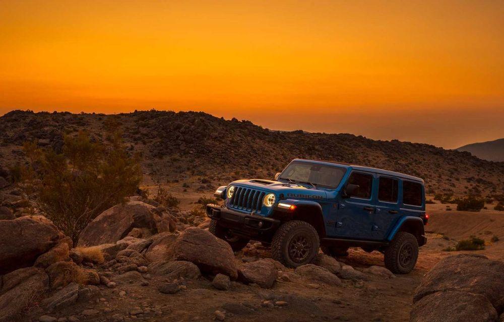 Jeep a prezentat noul Wrangler Rubicon 392: modelul este echipat cu un motor V8 cu 470 CP - Poza 19