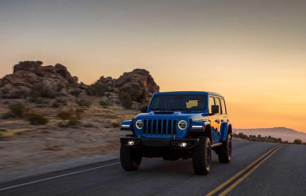 Jeep a prezentat noul Wrangler Rubicon 392: modelul este echipat cu un motor V8 cu 470 CP - Poza 2