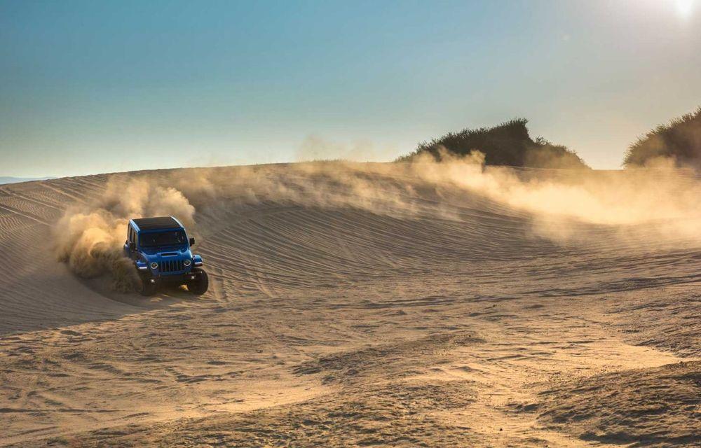 Jeep a prezentat noul Wrangler Rubicon 392: modelul este echipat cu un motor V8 cu 470 CP - Poza 11
