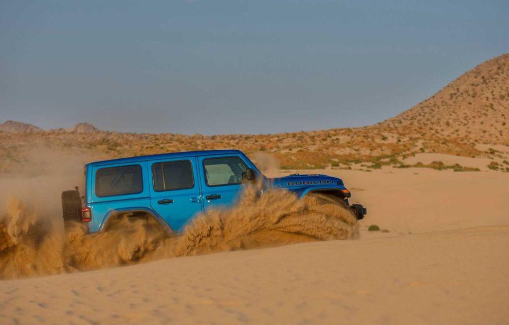 Jeep a prezentat noul Wrangler Rubicon 392: modelul este echipat cu un motor V8 cu 470 CP - Poza 10