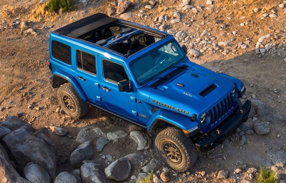 Jeep a prezentat noul Wrangler Rubicon 392: modelul este echipat cu un motor V8 cu 470 CP - Poza 9