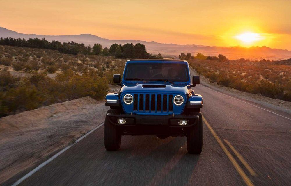 Jeep a prezentat noul Wrangler Rubicon 392: modelul este echipat cu un motor V8 cu 470 CP - Poza 4