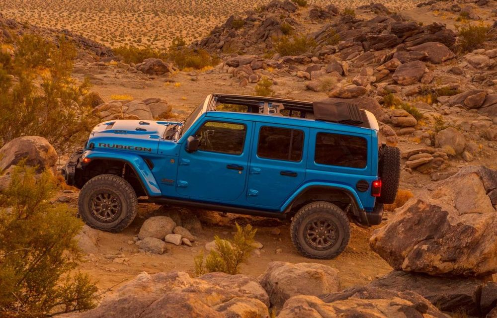 Jeep a prezentat noul Wrangler Rubicon 392: modelul este echipat cu un motor V8 cu 470 CP - Poza 21