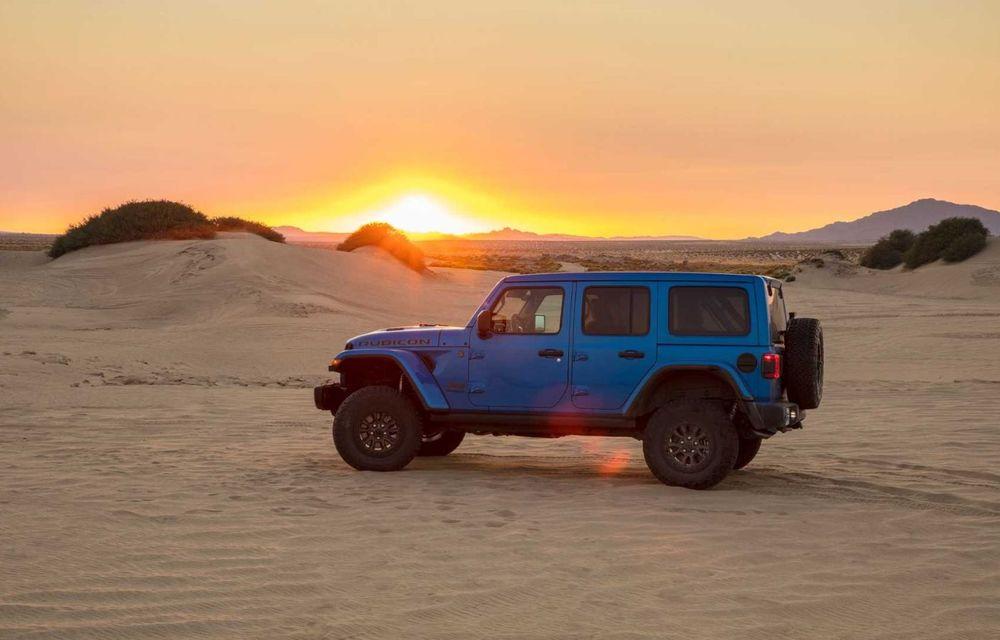 Jeep a prezentat noul Wrangler Rubicon 392: modelul este echipat cu un motor V8 cu 470 CP - Poza 13