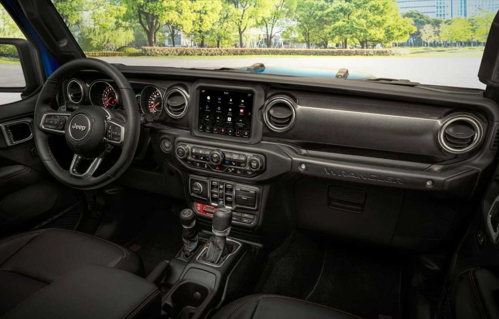 Jeep a prezentat noul Wrangler Rubicon 392: modelul este echipat cu un motor V8 cu 470 CP - Poza 23