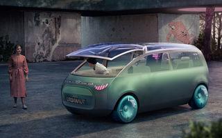 Mini a prezentat Vision Urbanaut: studiul de design anticipează tehnologiile și interiorul mașinilor autonome ale constructorului britanic