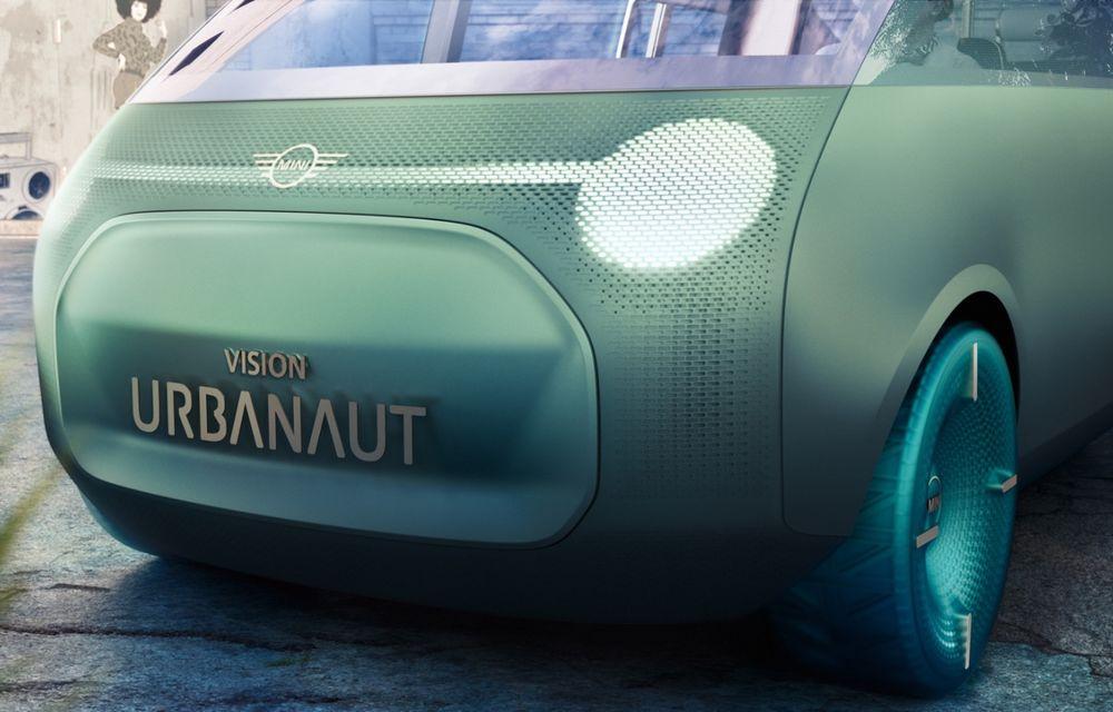 Mini a prezentat Vision Urbanaut: studiul de design anticipează tehnologiile și interiorul mașinilor autonome ale constructorului britanic - Poza 3