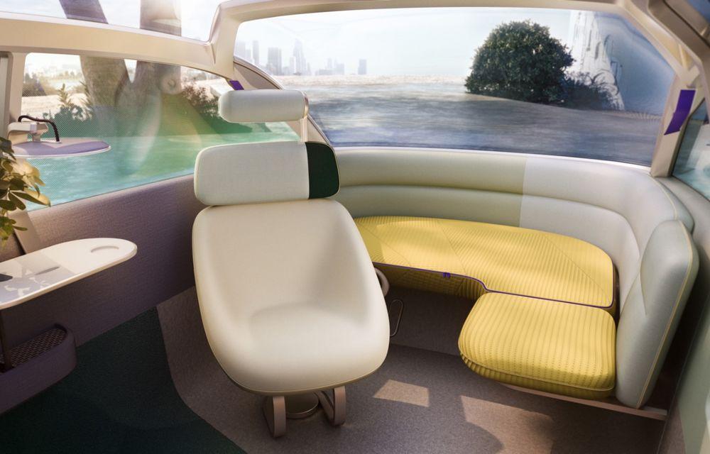 Mini a prezentat Vision Urbanaut: studiul de design anticipează tehnologiile și interiorul mașinilor autonome ale constructorului britanic - Poza 5