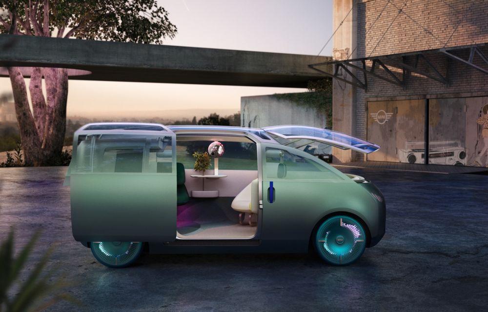 Mini a prezentat Vision Urbanaut: studiul de design anticipează tehnologiile și interiorul mașinilor autonome ale constructorului britanic - Poza 2