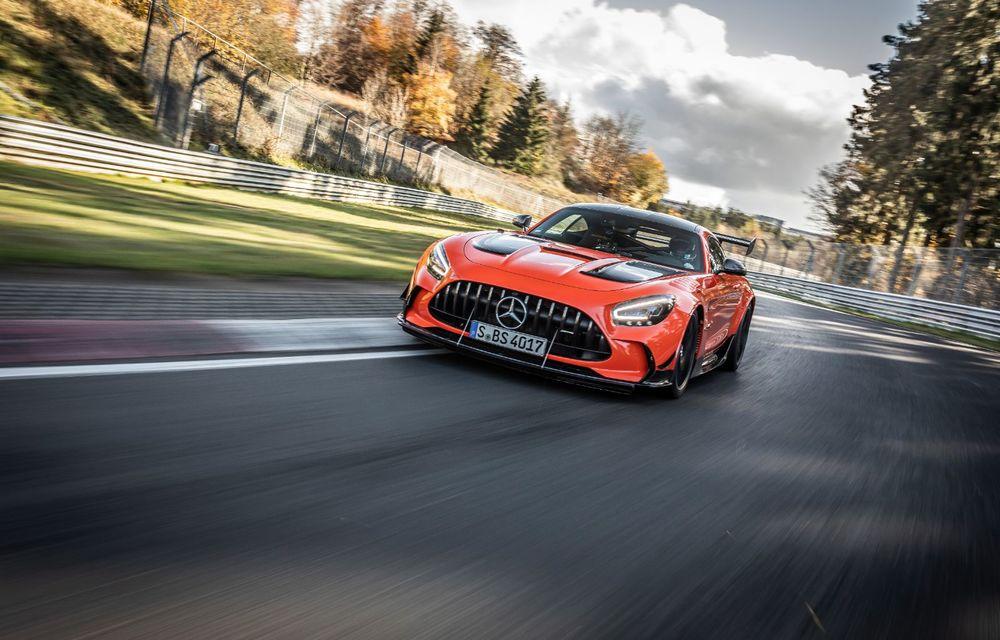 Record pe Nurburgring: Mercedes-AMG GT Black Series este cel mai rapid model de serie de pe Iadul Verde - Poza 3