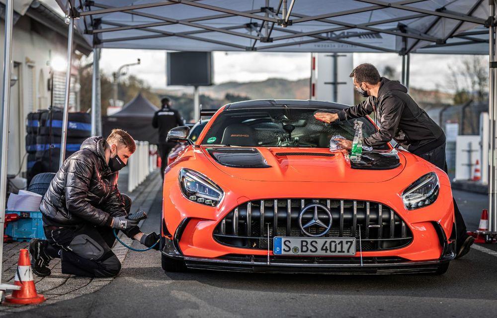 Record pe Nurburgring: Mercedes-AMG GT Black Series este cel mai rapid model de serie de pe Iadul Verde - Poza 14