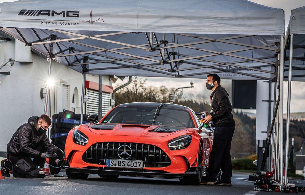 Record pe Nurburgring: Mercedes-AMG GT Black Series este cel mai rapid model de serie de pe Iadul Verde - Poza 15