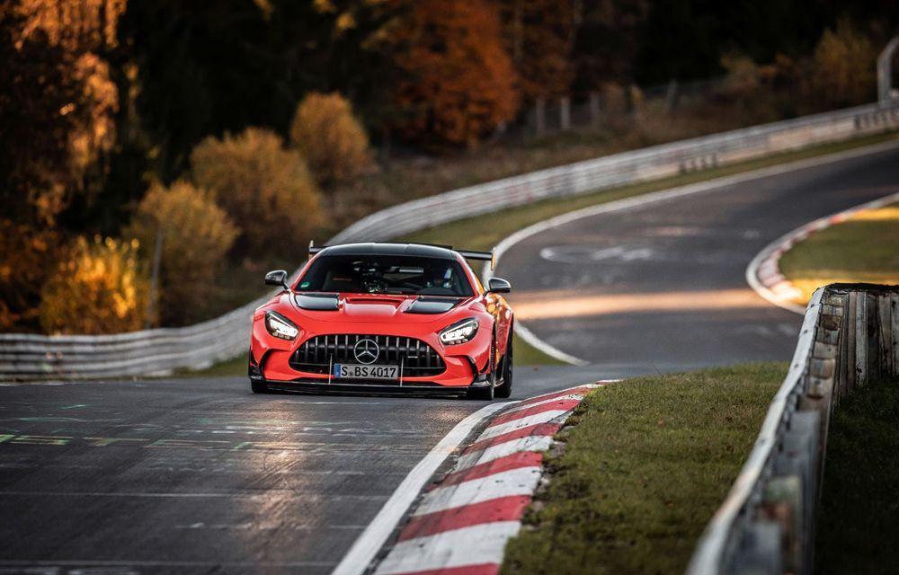 Record pe Nurburgring: Mercedes-AMG GT Black Series este cel mai rapid model de serie de pe Iadul Verde - Poza 10
