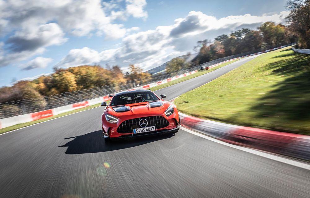 Record pe Nurburgring: Mercedes-AMG GT Black Series este cel mai rapid model de serie de pe Iadul Verde - Poza 5