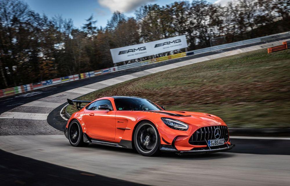Record pe Nurburgring: Mercedes-AMG GT Black Series este cel mai rapid model de serie de pe Iadul Verde - Poza 8