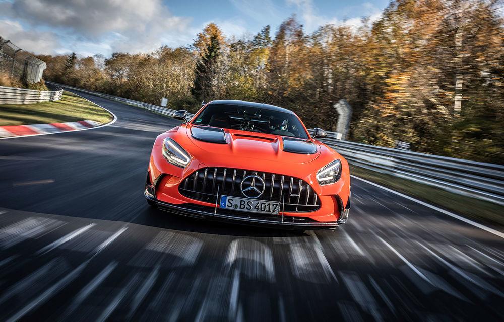 Record pe Nurburgring: Mercedes-AMG GT Black Series este cel mai rapid model de serie de pe Iadul Verde - Poza 1