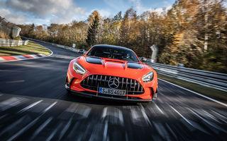 Record pe Nurburgring: Mercedes-AMG GT Black Series este cel mai rapid model de serie de pe Iadul Verde