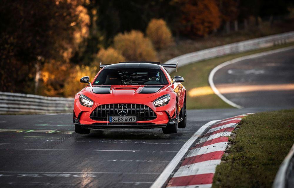 Record pe Nurburgring: Mercedes-AMG GT Black Series este cel mai rapid model de serie de pe Iadul Verde - Poza 11