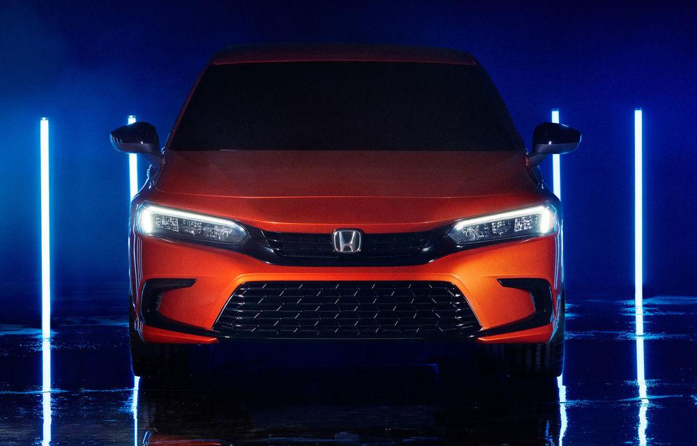 Primele imagini cu prototipul viitoarei generații Honda Civic: sedanul compact va fi lansat în Statele Unite în primăvară - Poza 5