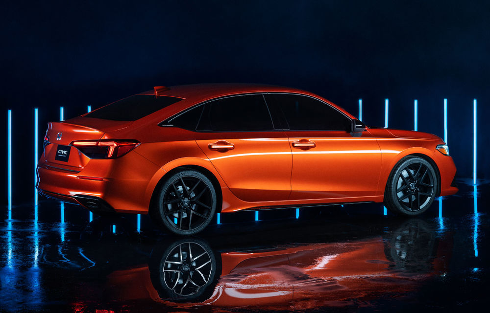 Primele imagini cu prototipul viitoarei generații Honda Civic: sedanul compact va fi lansat în Statele Unite în primăvară - Poza 7