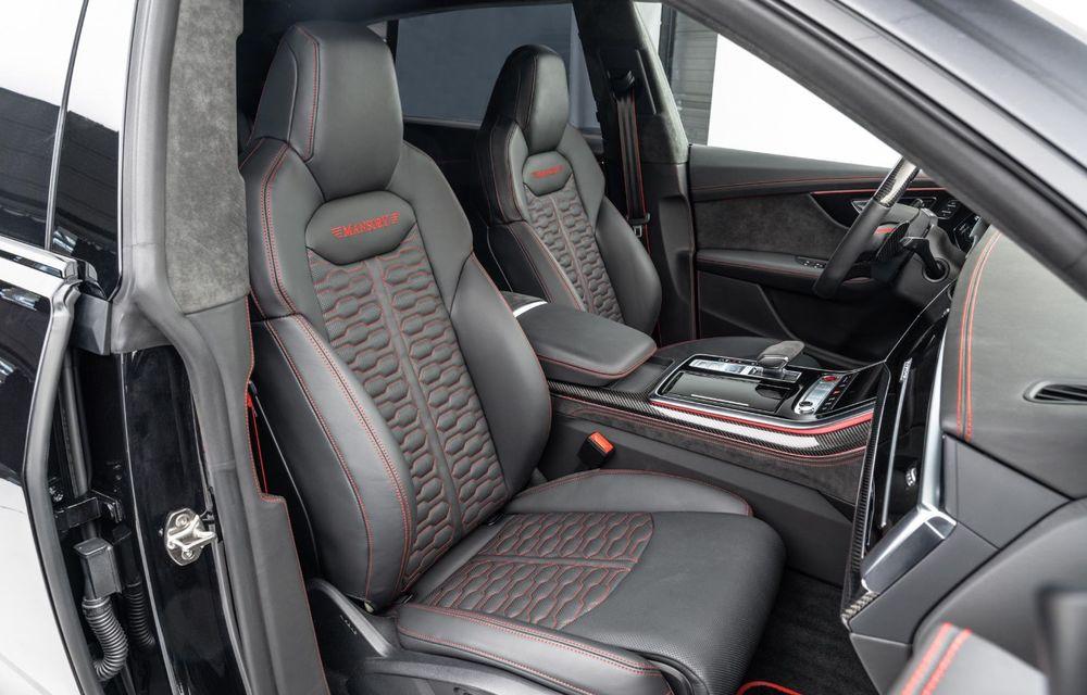 Tuning pentru Audi RS Q8 din partea Mansory: 780 CP și 0-100 km/h în 3.3 secunde - Poza 9