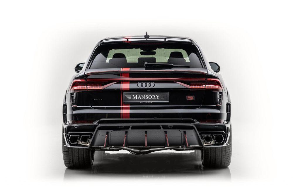 Tuning pentru Audi RS Q8 din partea Mansory: 780 CP și 0-100 km/h în 3.3 secunde - Poza 4