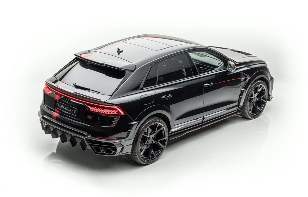 Tuning pentru Audi RS Q8 din partea Mansory: 780 CP și 0-100 km/h în 3.3 secunde - Poza 7