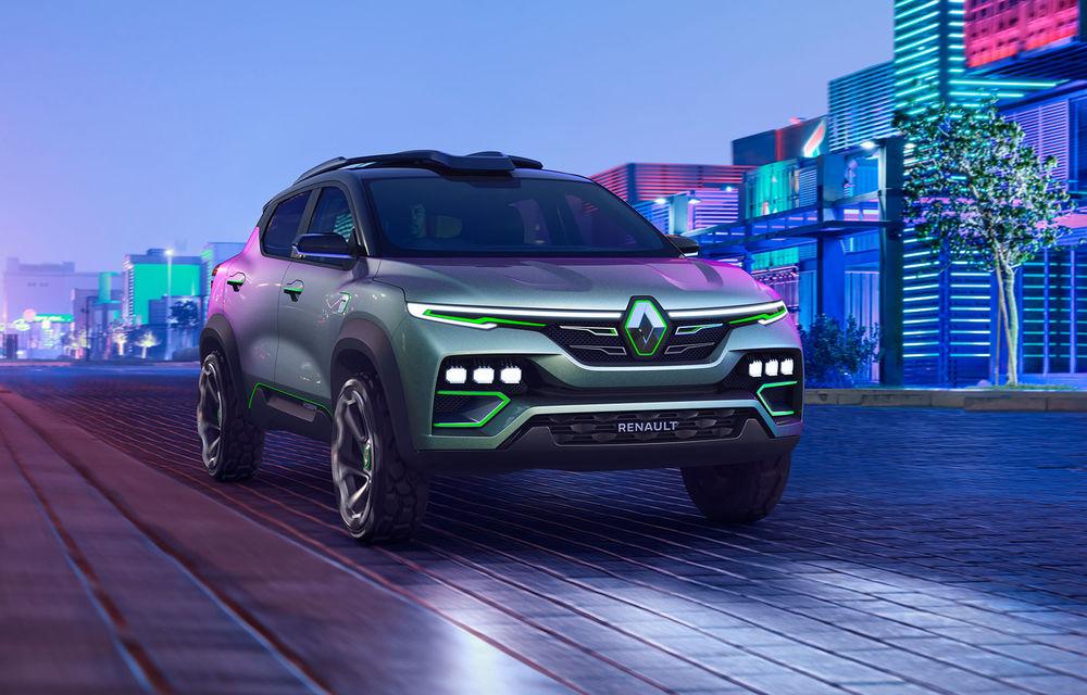 Un nou SUV Renault pentru piața din India: primele imagini cu versiunea de pre-serie a lui Kiger - Poza 1