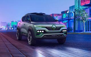 Un nou SUV Renault pentru piața din India: primele imagini cu versiunea de pre-serie a lui Kiger