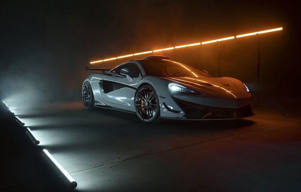 Novitec lansează un pachet de performanță pentru McLaren 620R: 711 CP și 2.8 secunde pentru accelerația de la 0 la 100 km/h - Poza 1