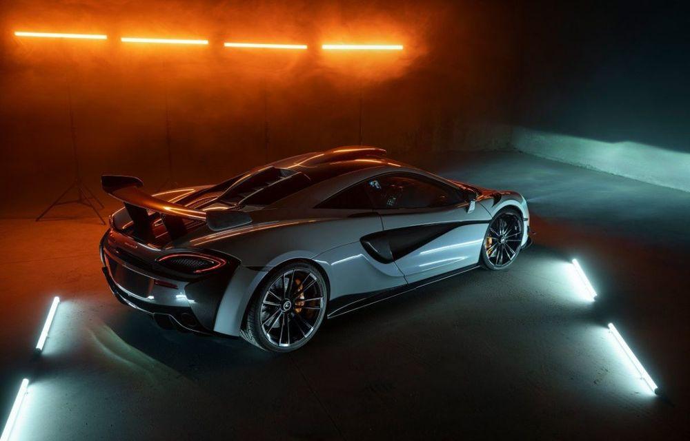 Novitec lansează un pachet de performanță pentru McLaren 620R: 711 CP și 2.8 secunde pentru accelerația de la 0 la 100 km/h - Poza 5