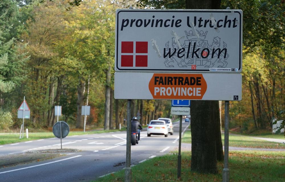 Orașul olandez Utrecht testează noi soluții pentru reducerea accidentelor: marcaje cu iluzii optice pentru reducerea vitezei - Poza 1