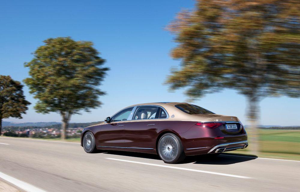 Noul Mercedes-Maybach Clasa S este aici: modelul de lux vine cu confort sporit la interior pentru pasagerii spate și numerose tehnologii noi - Poza 7
