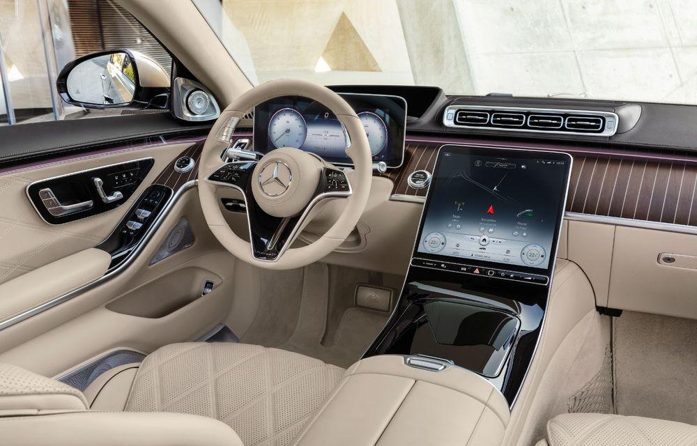 Noul Mercedes-Maybach Clasa S este aici: modelul de lux vine cu confort sporit la interior pentru pasagerii spate și numerose tehnologii noi - Poza 2