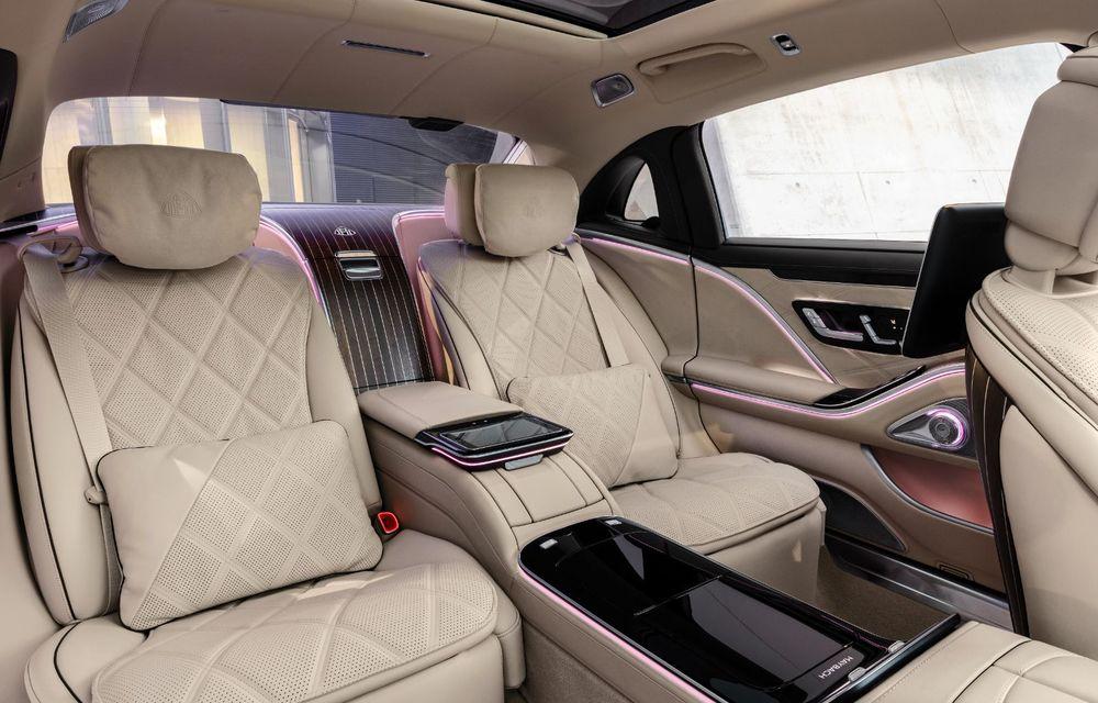 Noul Mercedes-Maybach Clasa S este aici: modelul de lux vine cu confort sporit la interior pentru pasagerii spate și numerose tehnologii noi - Poza 3