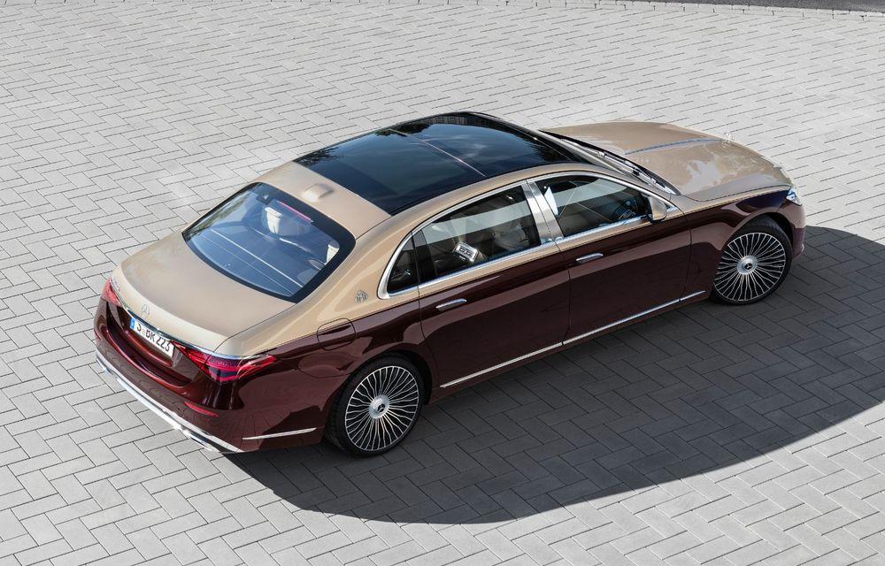 Noul Mercedes-Maybach Clasa S este aici: modelul de lux vine cu confort sporit la interior pentru pasagerii spate și numerose tehnologii noi - Poza 6