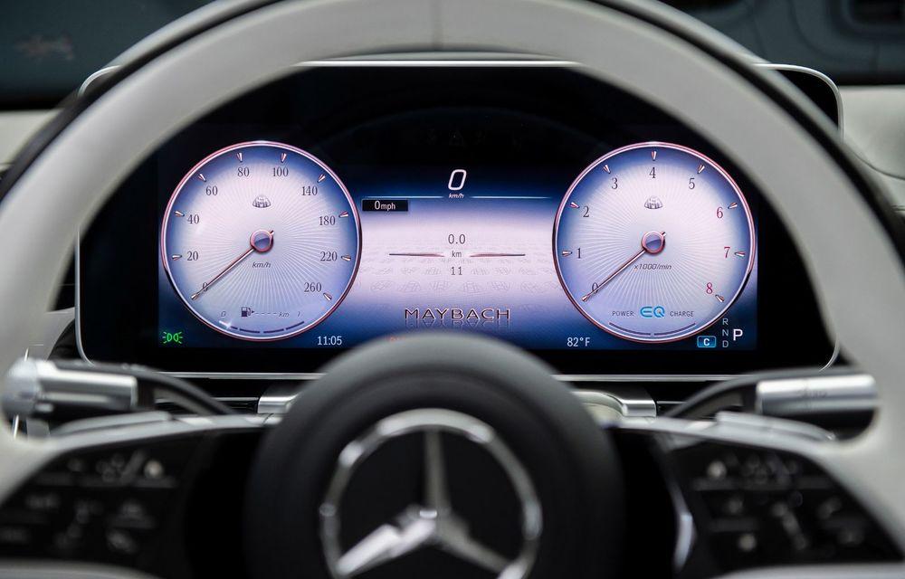 Noul Mercedes-Maybach Clasa S este aici: modelul de lux vine cu confort sporit la interior pentru pasagerii spate și numerose tehnologii noi - Poza 5