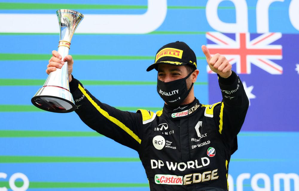 """Ricciardo consideră că a avut cel mai bun sezon de după 2016: """"Pauza prelungită m-a determinat să revin mai puternic"""" - Poza 1"""