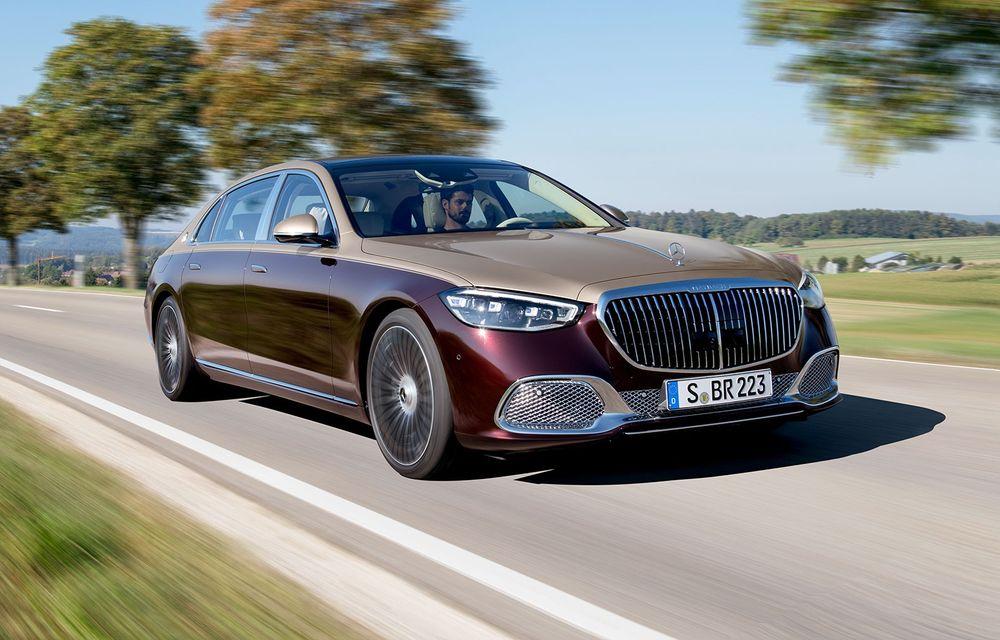 Daimler vrea să dubleze vânzările Maybach: 12.000 de unități comercializate anul trecut - Poza 1