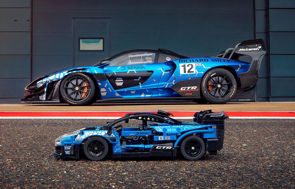 Lego a pregătit un McLaren Senna GTR din 830 de piese: produsul face parte din colecția Technic și va fi disponibil din 1 ianuarie - Poza 1