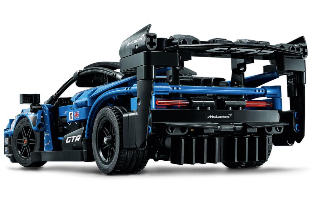 Lego a pregătit un McLaren Senna GTR din 830 de piese: produsul face parte din colecția Technic și va fi disponibil din 1 ianuarie - Poza 3