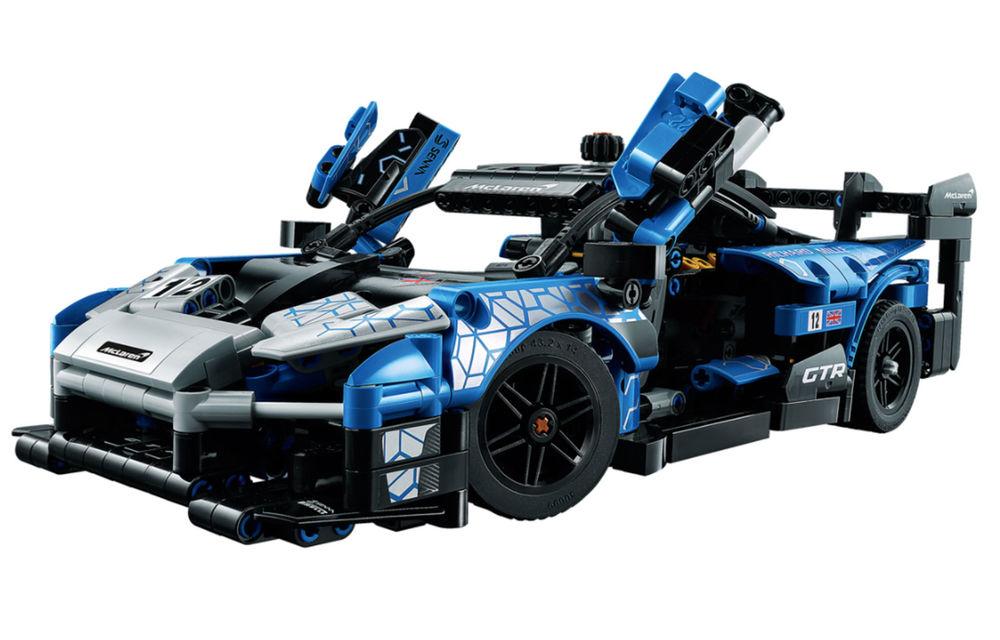 Lego a pregătit un McLaren Senna GTR din 830 de piese: produsul face parte din colecția Technic și va fi disponibil din 1 ianuarie - Poza 2