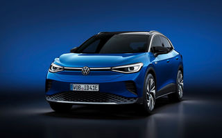 Volkswagen va lansa ID.5 în 2021: SUV-ul coupe va fi comercializat doar în Europa