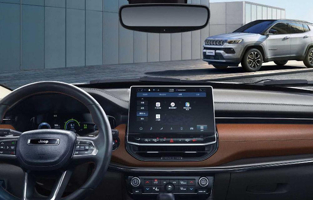 Jeep Compass facelift a fost prezentat în China: mici modificări de design și îmbunătățiri pentru interior - Poza 2