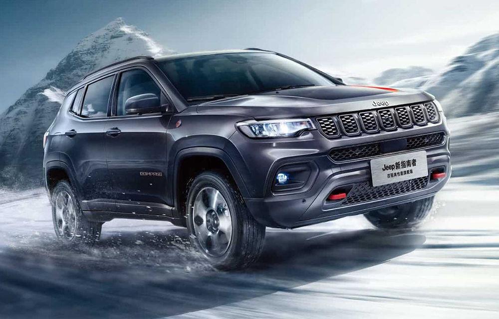 Jeep Compass facelift a fost prezentat în China: mici modificări de design și îmbunătățiri pentru interior - Poza 1